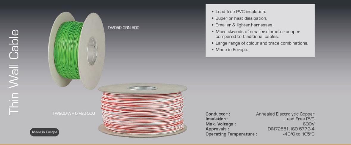 Thin Wall Cable
