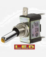 Narva 60288BL Off/On Toggle Switch with Red L.E.D