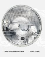 Narva 72036 H4 7'' (178mm) High/Low Beam Halogen Headlamp Only