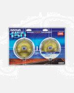Narva 72220 Maxim 150 Yellow Fog Lamp Kit 12 Volt 55W 150mm dia - Blister Pack