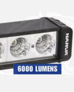 Narva 72756 9-32 Volt High Powered L.E.D Work Lamp Flood Beam Bar 6000 Lumens