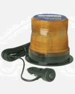 Narva 85352A Single Flash Sonically Sealed Strobe Light (Amber) with Magnetic  Base, Cigarette Lighter Plug and Off/On Switch with L.E.D Indicator and 3  Metre Straight Lead