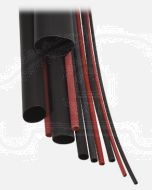 Narva 56664 Dual Wall Heatshrink Tubing Black (Shrunk Dia.1.6mm)