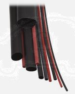 Narva 56662 Heatshrink Dual Wall Tubing - Black (Shrunk Dia. 1mm)