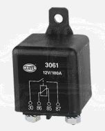 Hella 3061 High Capacity Normally Open Relay - 4 Pin, 12V DC