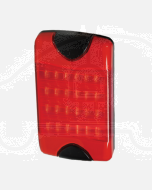 Hella 2330-V DuraLed Vertical Mount Wide Angle Stop/ Rear Position Lamp