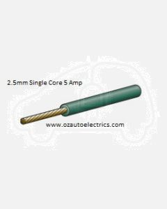 Narva 5812-100GN Green Single Core Cable 2.5mm (100m Roll)