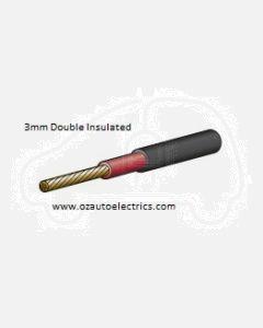 Narva 5813-100DI Double Insulated Single Core Cable 3mm (100m Roll)