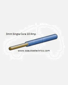 Narva 5813-100BE Blue Single Core Cable 3mm (100m Roll)