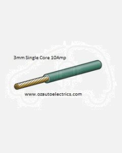 Narva 5813-100GN Green Single Core Cable 3mm (100m Roll)