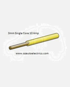 Narva 5813-100YW Yellow Single Core Cable 3mm (100m roll)