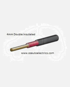 Narva 5814-100DI Double Insulated Single Core Cable 4mm (100m Roll)