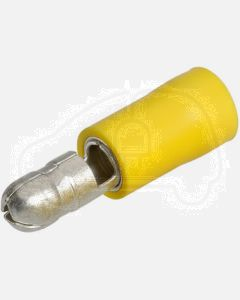 Narva 56155 Male Bullet Terminal, Flared Vinyl Insulated 5-6mm (Box of 50)