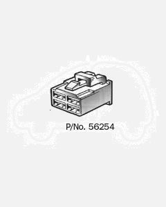 Narva 56254 4 way Quick Connector Housing with Terminals - Male (Pack of 10)