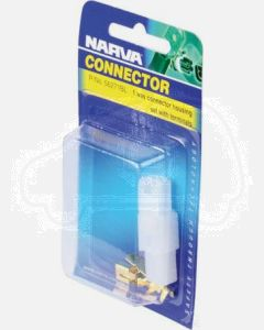 Narva 56271BL 1 Way Quick Connector Housing with Terminals - Male & Female (Blister Pack)