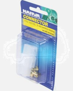 Narva 56272BL 2 Way Quick Connector Housing with Terminals - Male & Female (Blister Pack)
