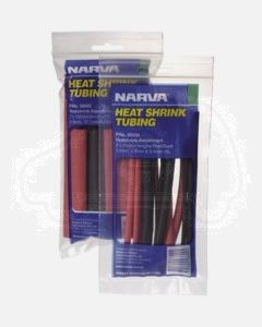 Narva 56602 Heatshrink Tubing Assortment 150mm Lengths from 9.5mm - 19mm dia.
