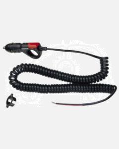Narva 81018BL Cigarette Lighter Plug with L.E.D Indicator and Spiral Lead