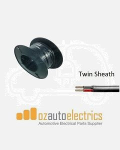 2mm Twin Core Sheathed Cable 30m
