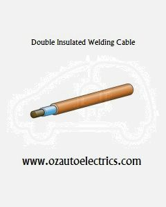 10mm2 Double Insulated Welding Cable - Single Core, 100m Roll