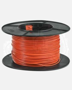 Ionnic TC-1.5-ONG-100 Single Orange Cable - Tinned (1.5mm2)