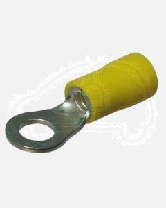 Quikcrimp Yellow 5MM Ring Terminal 3/16 (100)