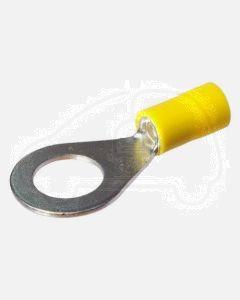 Quikcrimp QKC42  Yellow 10MM Ring Terminal 3/8