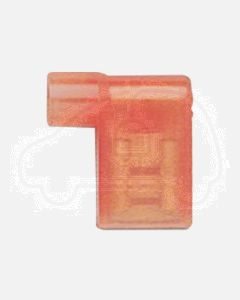 Quikcrimp 0.5 - 1.5mm2 Fully Insulated Quick Connect Flag - Red
